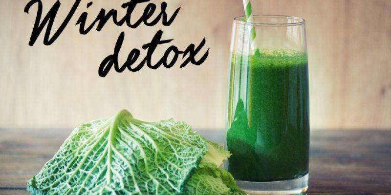 Estratto detox con verza, zenzero, pera e topinambur