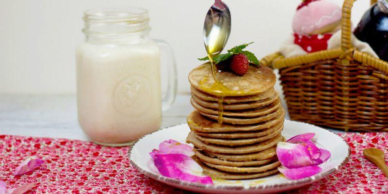 Ricetta per pancake al latte di soia
