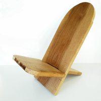 Sgabello per la meditazione con schienale - COMFORT