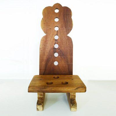 Sgabello per la meditazione con schienale Loto