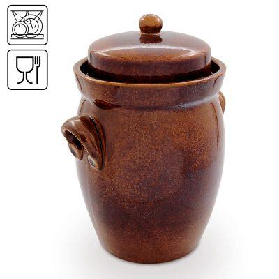Crautaia- vaso per le verdure fermentate