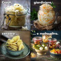 Verdure fermentate e crauti