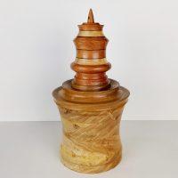 Biscottiera il legno Buddhi