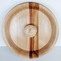 Piatto in legno centro tavola Candra
